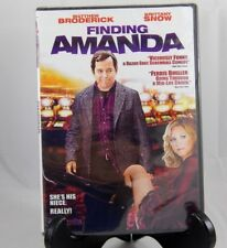 Finding Amanda (Dvd, 2008) Matthew Broderick Brittany Snow Rated R Movie sealed