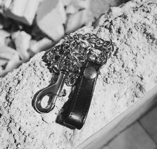 Schlüsselkette Portemonnaie Geldbörse Hosenkette Metallkette L- 50 cm Rockabilly