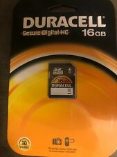 Duracell 16GB SDHC Card - DU-SD-16GB-C