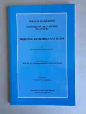 Vedantic Instruction for Beginners - Morning Remembrance Hymn, free shipping