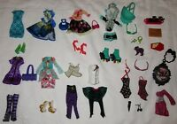 Monster High Ever After High Doll Clothes Dresses Shoes Purses Accessories Lot