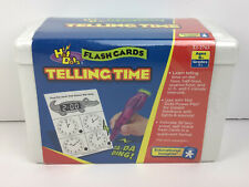 EI 2763 Hot Dots Telling Time Flashcards Educational Toys Teaching Supplies NEW