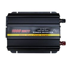 ONDA SINUSOIDALE PURA 1000 WATT POWER INVERTER DC 12V a AC 240V