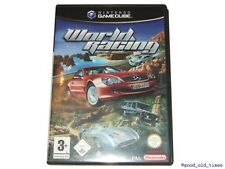 # world racing (allemand) Nintendo GameCube/GC jeu-top #