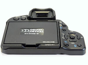 NEW DELKIN Pro Series Pop-Up Shade - For Canon Eos 500D