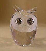 SWAROVSKI CRYSTAL OWL LARGE 010022 MINT BOXED RETIRED RARE