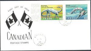 Canada  #  1495a   PREHISTORIC LIFE CANADA     Brand New 1993 Unaddressed Issue