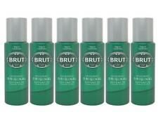 6x Brut Original Deodorant -langanhaltend - 200ml  ( 6 ér Pack )