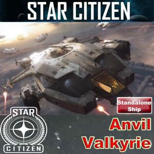 Star Citizen - Anvil Valkyrie LTI CCUd (Lifetime Insurance)