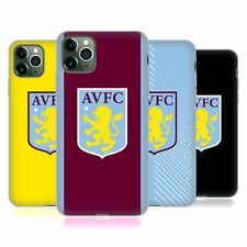 OFFICIAL ASTON VILLA FOOTBALL CLUB 2019/20 KIT GEL CASE FOR APPLE iPHONE PHONES