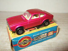 Vintage Matchbox No54 Ford Capri in Met Mauve and original  Box with Features.