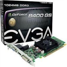 EVGA GeForce 8400 GS Graphics Card - PCI Express 2.0 x16 - 1 GB DDR3 SDRAM