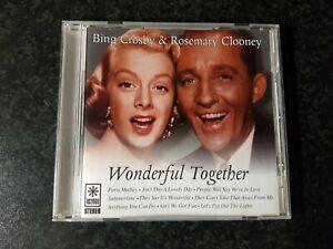 BING CROSBY & ROSEMARY CLOONEY - WONDERFUL TOGETHER - CD ALBUM