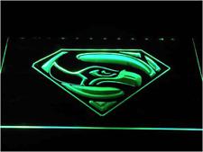 New Custom Super Seattle Seahawks LED Neon Light Signs Bar Man Cave 7 colors