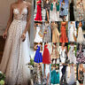 Women's Formal Prom Ball Gown Evening Party Ladies Bridesmaid Wedding Dresses
