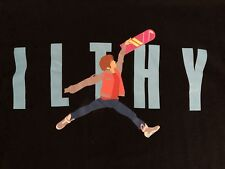ILTHY BACK TO THE FUTURE SHIRT SIZE M GLOW IN THE DARK RARE VINTAGE MARTY MCFLY