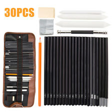 30pcs Sketching Set Kit Drawing Art Pencils Supplies for Kids Adults Profession