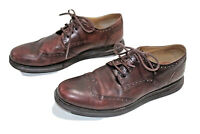 Cole Haan Lunargrand Wing Tip Men's Leather Oxford Shoes Size 11 M Brown C12598