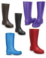 Crocs Wellington Boots Slip On Shoes for Women