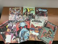 mixed lot of DC/Marvel comic books Lot Of 8  Xmen, Batman