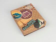 Hotel labels postcards box LOUIS VUITTON