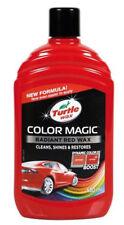 TURTLE WAX RADIANT RED WAX COLOUR MAGIC POLISH CAR VAN 500ml
