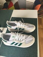 mens adidas trainers size 9  Used Once 3 Stripes