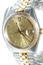Rolex Tudor Prince OysterDate Solid Gold Bezel Watch ref. 75203 - Nice Ex+!