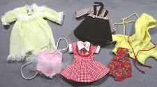 "Lot of Vintage Clothes for 8"" Betsy McCall Doll - Dresses, Sunsuit, Tutu, Gown"