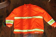 Brite Threads Orange Reflective Insulated Termolite Jacket Size 3XL NWT