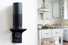 Power Perch: The Original Charging Shelf for Your Home - Black (1 Pack)