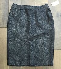 Lovely COLDWATER CREEK Paisley Pencil Skirt Fully Lined Women's Size 6 NWT