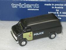 Trident  HO (1/87) New Brunswick Canada  Police Chevy Van  #90360