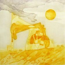 "Whiteside ""After The Ice Storm"" Hand Signed & #ed Etching of oil machinery 1978"