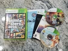 Grand Theft Auto V for Xbox 360  FREE FAST SHIPPING COMPLETE W/Map