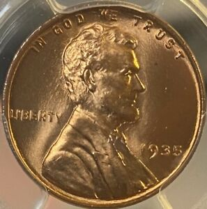 1935-P PCGS MS66RD Red Lincoln Cent Wheat Penny Gem UNC