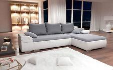 Couch Garnitur Ecksofa Sofagarnitur Sofa HERCULES Wohnlandschaft Schlaffunktion