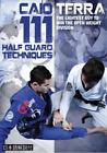 111 Half Guard Techniques 3 DVD Set with Caio Terra BJJ Brazilian Jiu-Jitsu