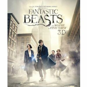 Fantastic Beasts 3D Blu Ray Special Edition with Niffler Statue