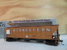 PROTO 2000 HO SCALE RTR MIDWESTERN GRAIN 4427 PS-2CD 7013 HOPPER CAR 21531