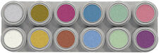"Grimas face paint ** 12 couleurs eau make-up ** palette ""p"""