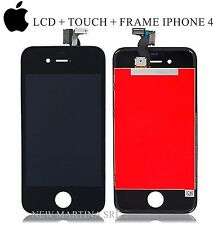 DISPLAY IPHONE 4 nero completo + KIT -- LCD + TOUCH SCREEN + FRAME High-Quality