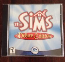 The Sims Deluxe Edition (PC, 2002) Game + Other Sims Discs