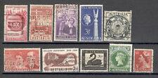 R2908 - AUSTRALIA 1955/56 - LOTTO ANNATE DIFFERENTI - VEDI FOTO