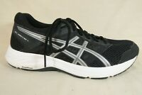 ASICS Gel Contend 5 Black Silver Mesh Athletic Running Shoes Womens Size 9