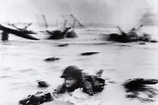 Robert Capa D-Day PHOTO Normandy invasion wwii