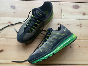 Nike Air Max 95 Total Olive/Grey/Graphite/Volt UK9 / US10 - BUBBLE PUNCTURED