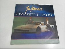 "Jan Hammer Crocketts Theme 7"" Single EX Vinyl Record MCA 1193 P/S"