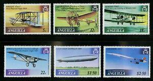 Anguilla   1979   Scott #355-360   Mint Never Hinged Set