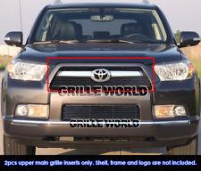 For 10-11 2011 Toyota 4Runner Black Billet Grille Insert